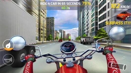 скачать мод Moto Highway Rider