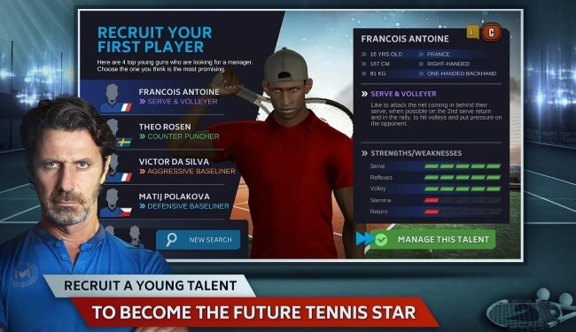 Tennis Manager 2018 andorid
