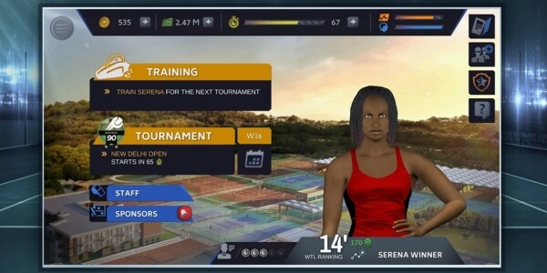 Tennis Manager 2018 mod