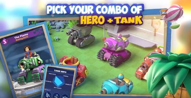 Dank Tanks взлом