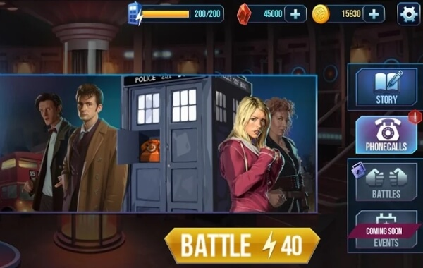 Doctor Who: Battle of Time мод