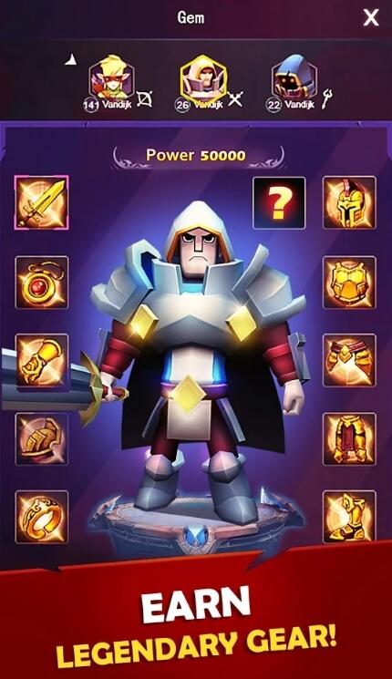 Dungeon Warrior мод