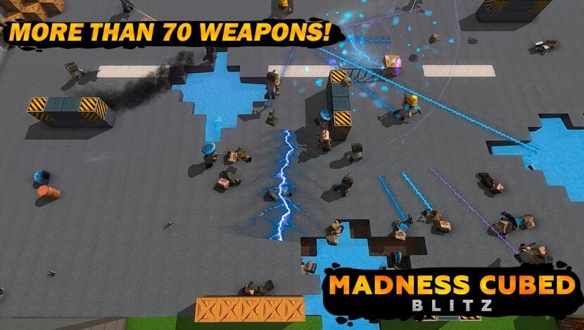 Madness Cubed Blitz взлом