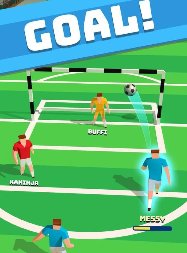 Soccer Hero мод