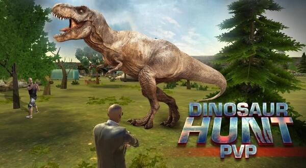 Dinosaur Hunt PvP android