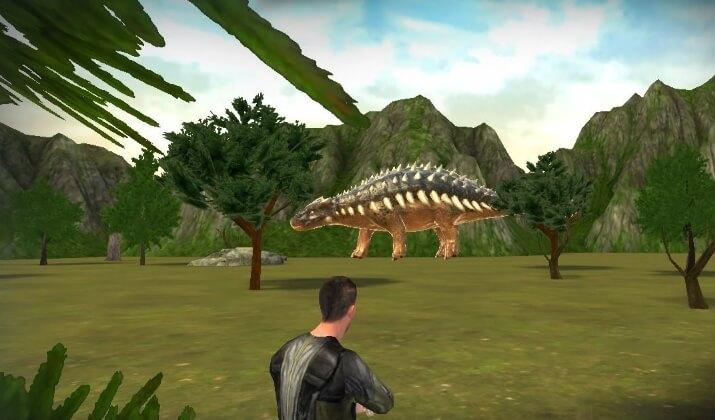 Dinosaur Hunt PvP mod