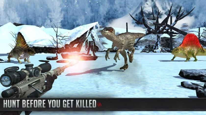 Dinosaur Hunter 2018 mod