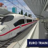 Euro Train Simulator 2 андроид