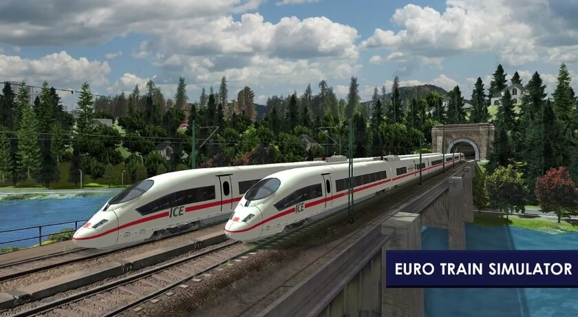 Euro Train Simulator 2 бесплатно