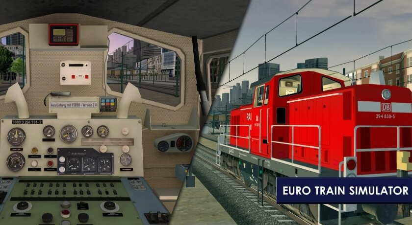 Euro Train Simulator 2 мод
