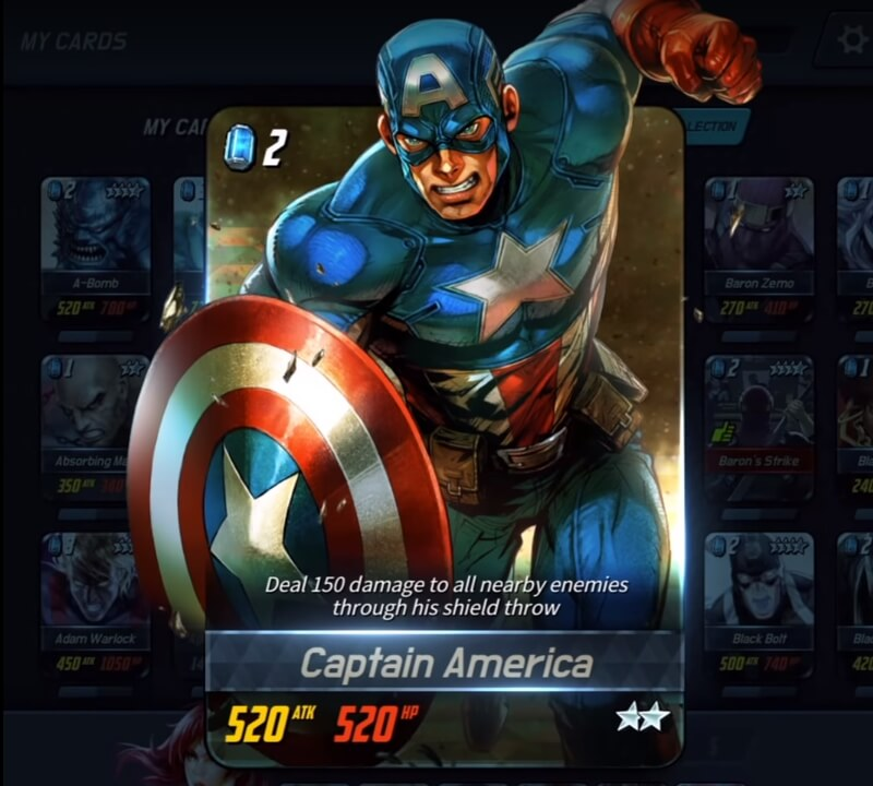 MARVEL Battle Lines коды