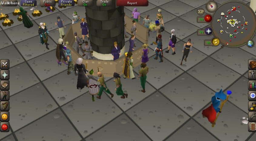 Old School RuneScape чит
