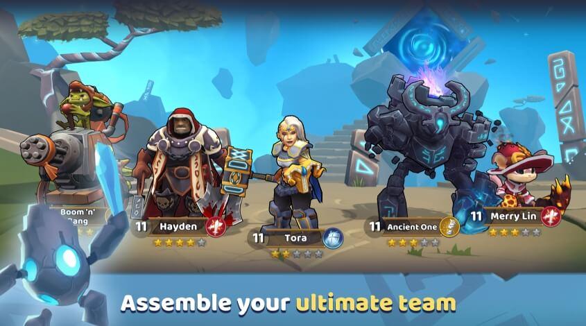 Runegate Heroes бесплатно