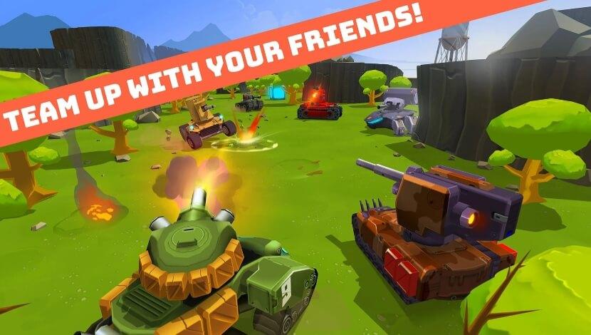 Tank Party vzlom