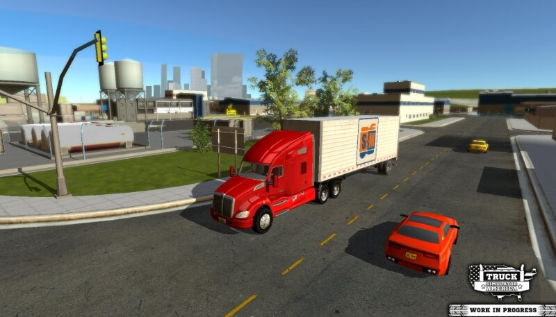 Truck Simulator America мод