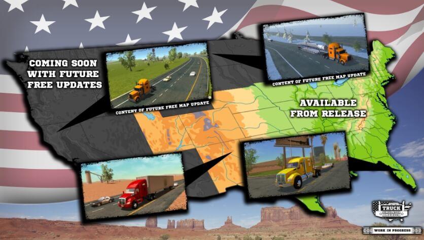 Truck Simulator America взлом