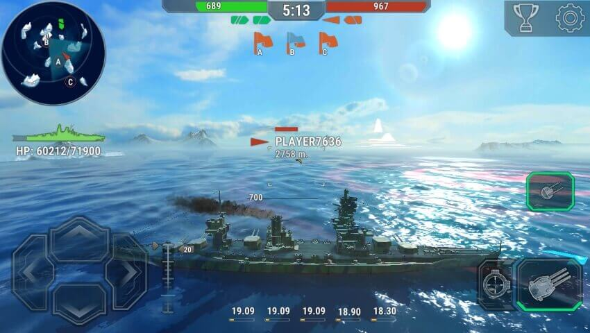 Warships Universe: Naval Battle взлом