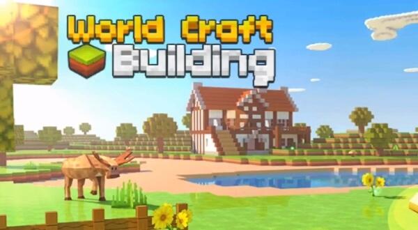Мир блоков - World Craft Building взлом
