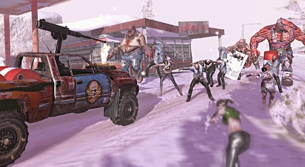 Зомби, Машины и 2 Девушки андроид