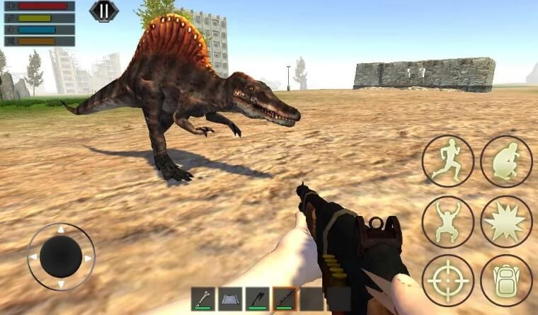 Dino Craft Survival взлом