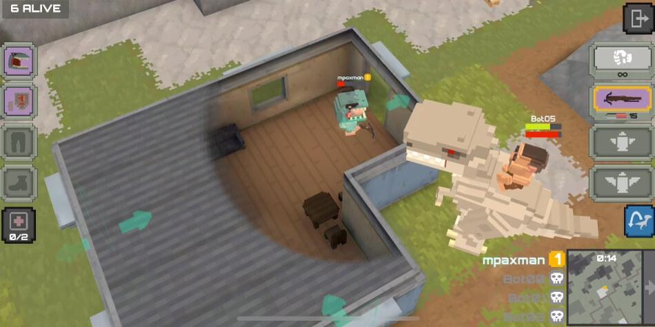 Dinos Royale андроид