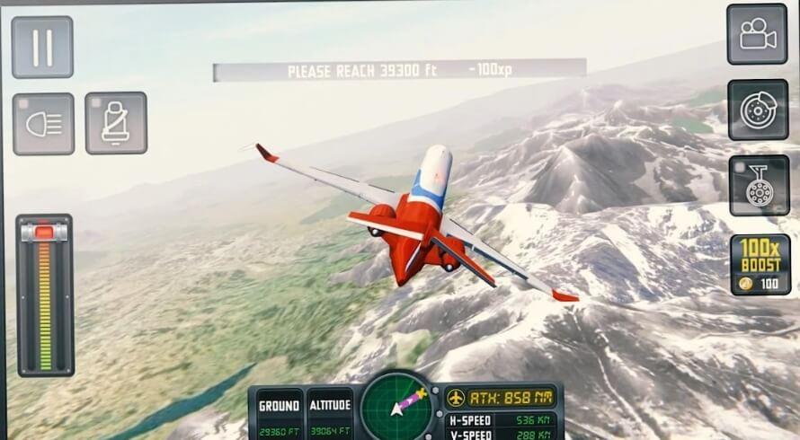 Flight Sim 2018 мод