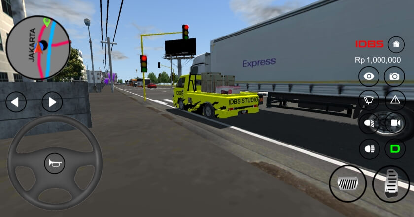 IDBS Pickup Simulator андроид
