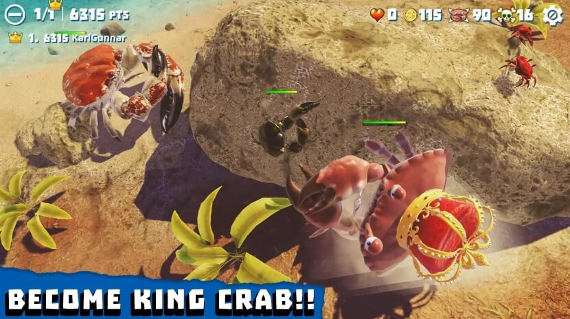 King of Crabs мод