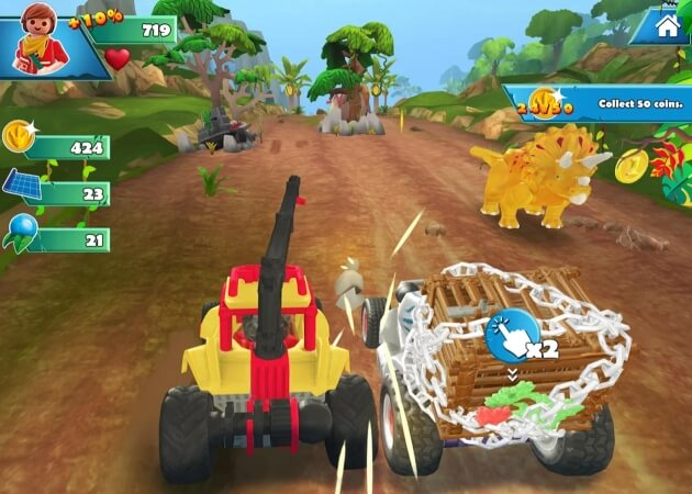 PLAYMOBIL Dinos cheat
