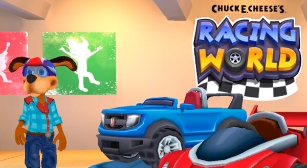 Chuck E. Cheese's Racing World андроид