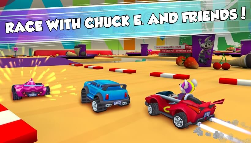 Chuck E. Cheese's Racing World мод