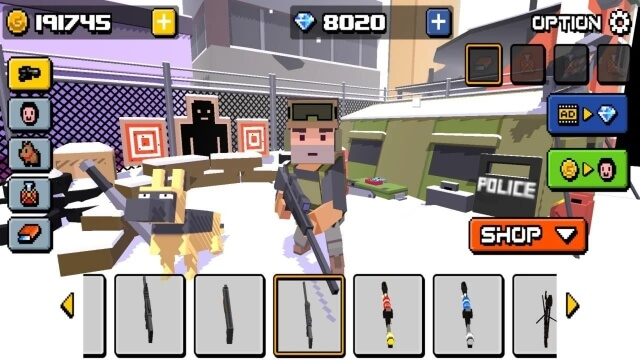 Cube Zombie Hunter android