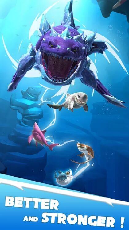 Hungry Shark Heroes взлом
