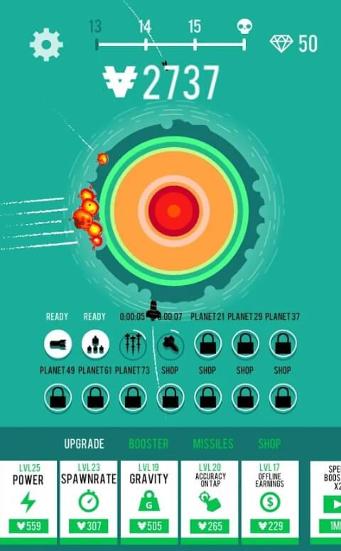 Planet Bomber мод