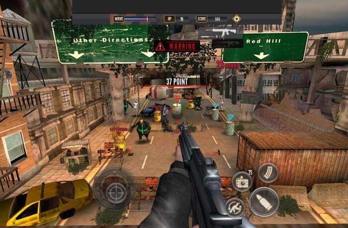 Zombie Стрельба King мод