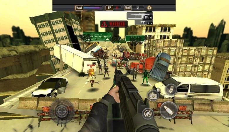 Zombie Стрельба King взлом