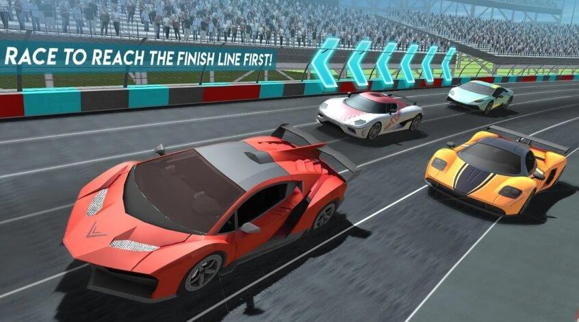 Car Racing 2018 мод