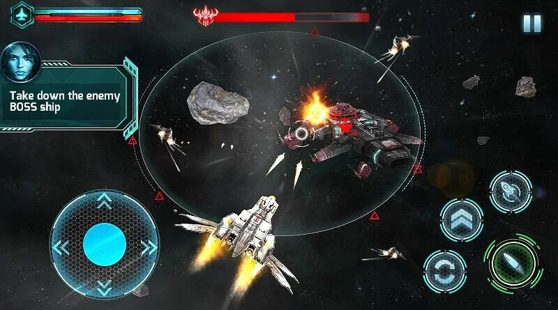 Galaxy Strike 3D мод