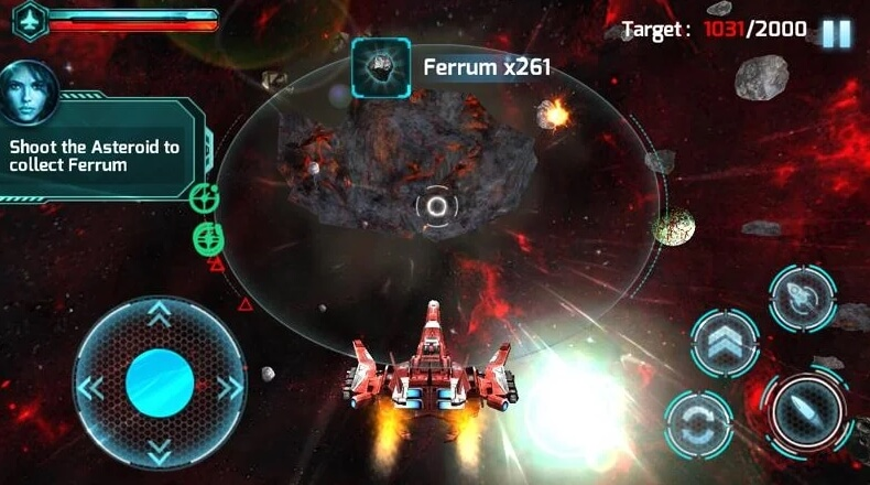 Galaxy Strike 3D взлом