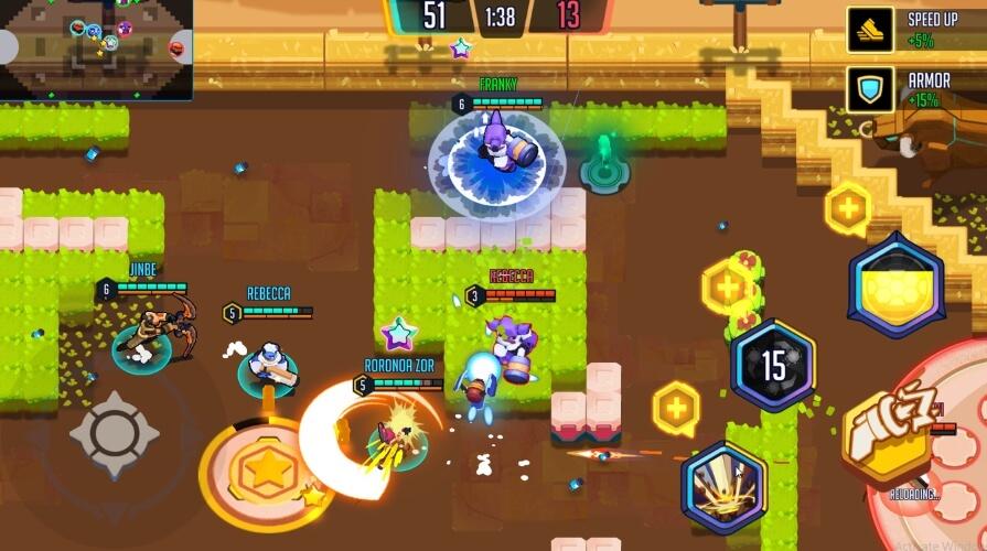 Heroes Strike взлом