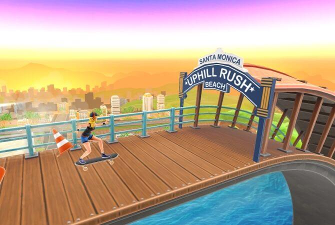 Uphill Rush Santa Monica Bay мод