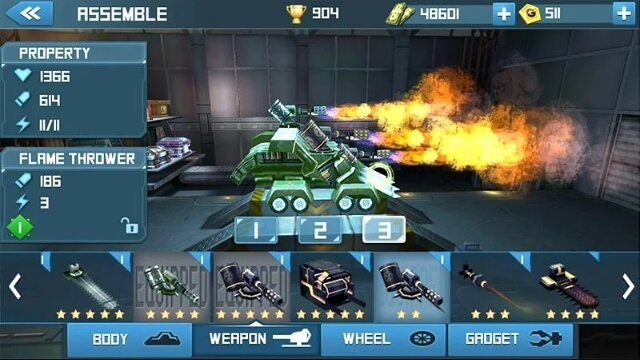 Robot Crash Fight мод