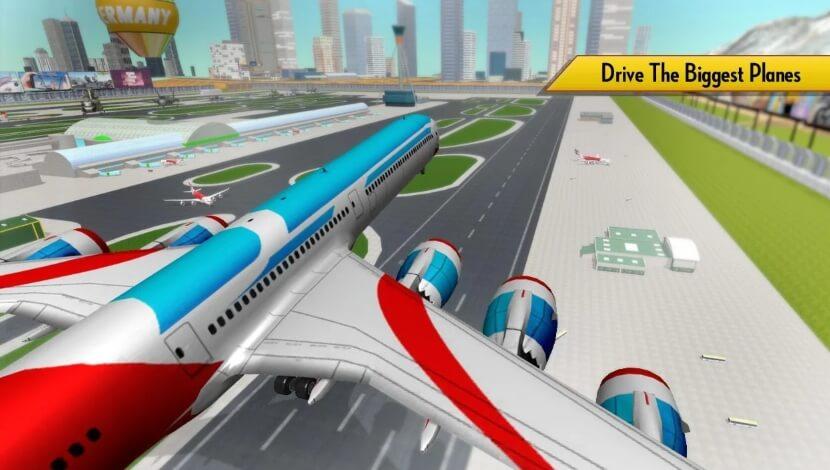 Airplane Simulator 2018 чит