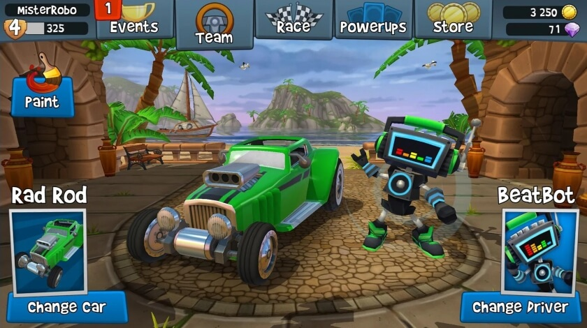 Beach Buggy Racing 2 чит