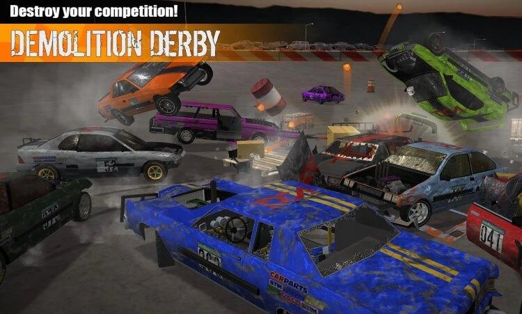 Demolition Derby 3 много денег