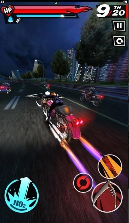 Бешеные мотоциклисты взлом