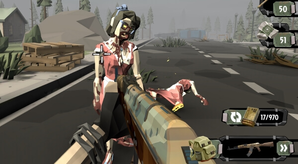 The Walking Zombie 2 много денег