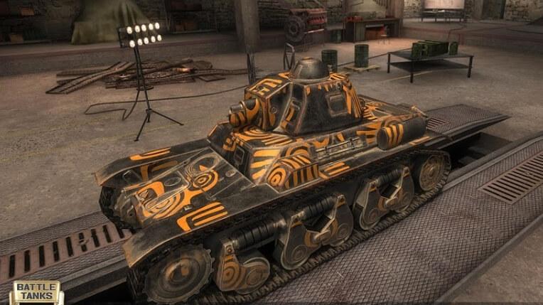 Battle Tanks: Legends of World War II чит