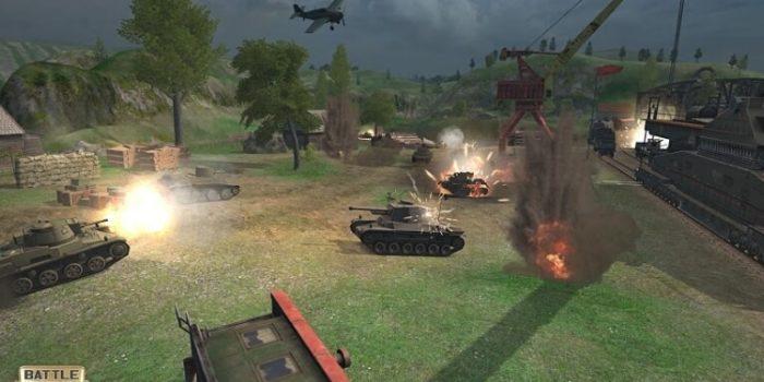 Battle Tanks: Legends of World War II взлом