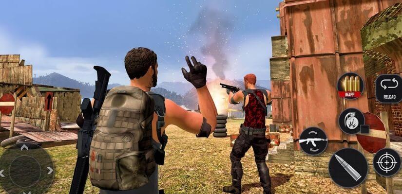 Battleground Fire : Free Shooting читы